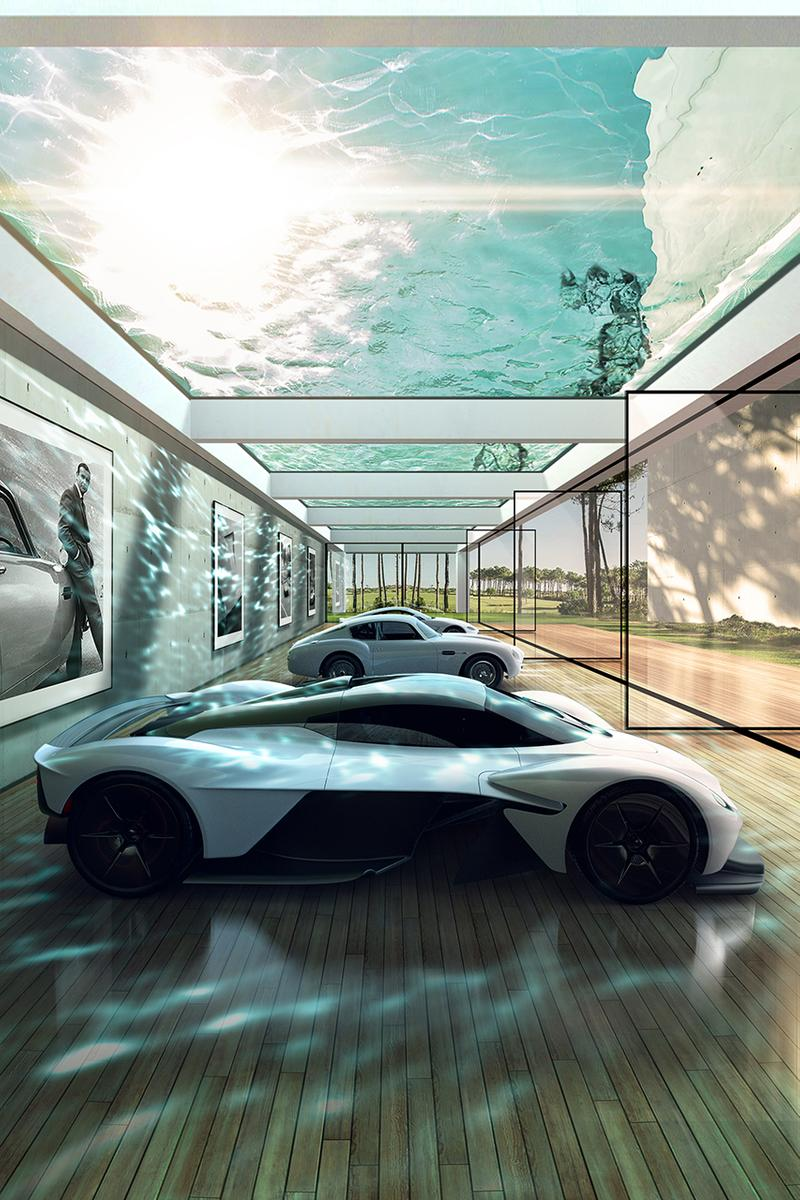 Aston Martin Build Custom Garages Car Lairs Super Villain Bespoke Marek Reichman Sebastien Delmaire Architecture