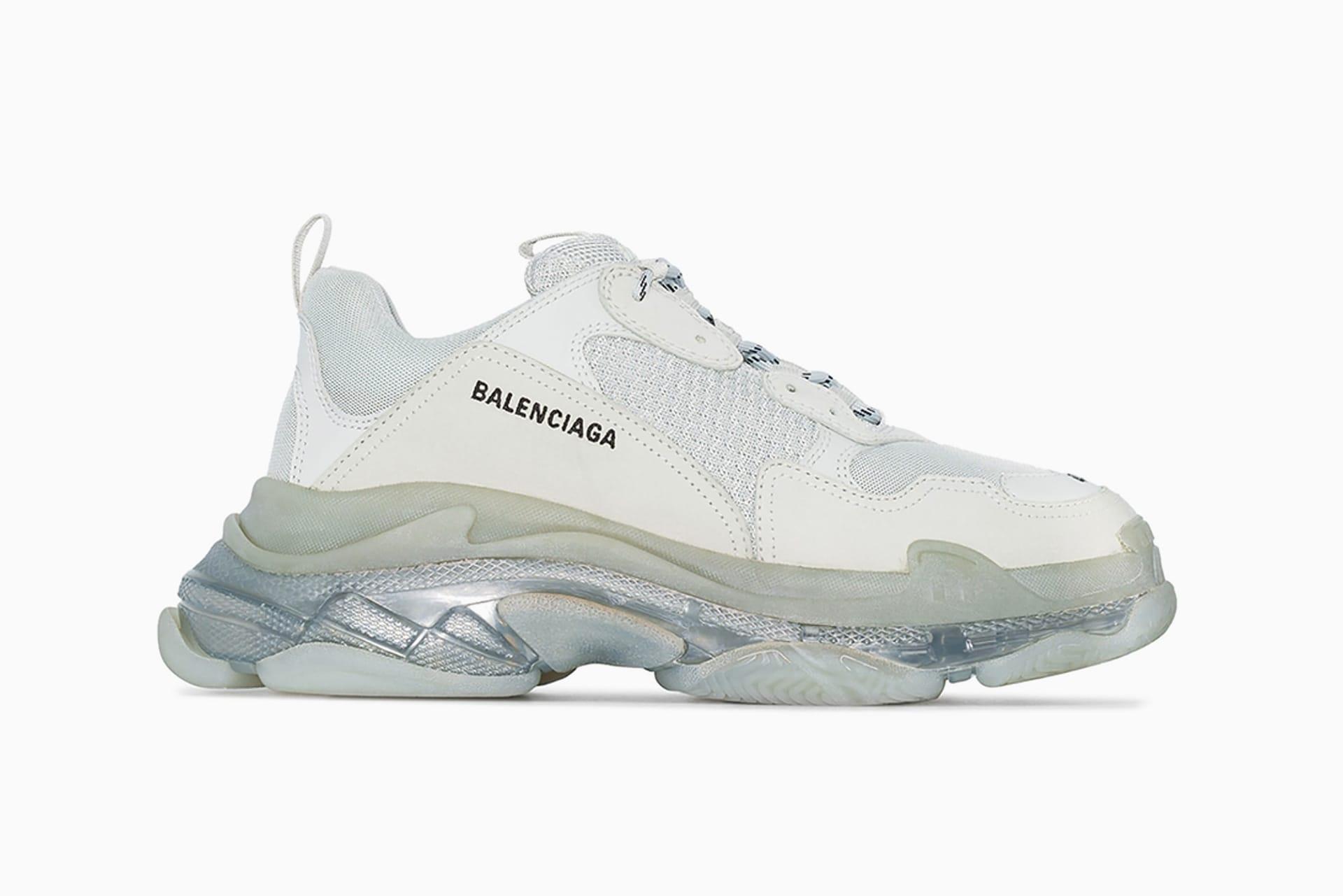 gray balenciaga sneakers