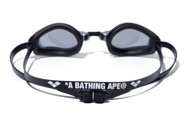BAPE arena Swimwear Collection a bathing ape capsules swim trunks swimsuits googles flutter kick board ape head towels abc camo Swimwear lookbooks collaborations