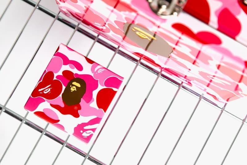 The Peninsula Boutique x BAPE Mooncake Gift Box a bathing ape mid autumn festival pink abc camo tin case