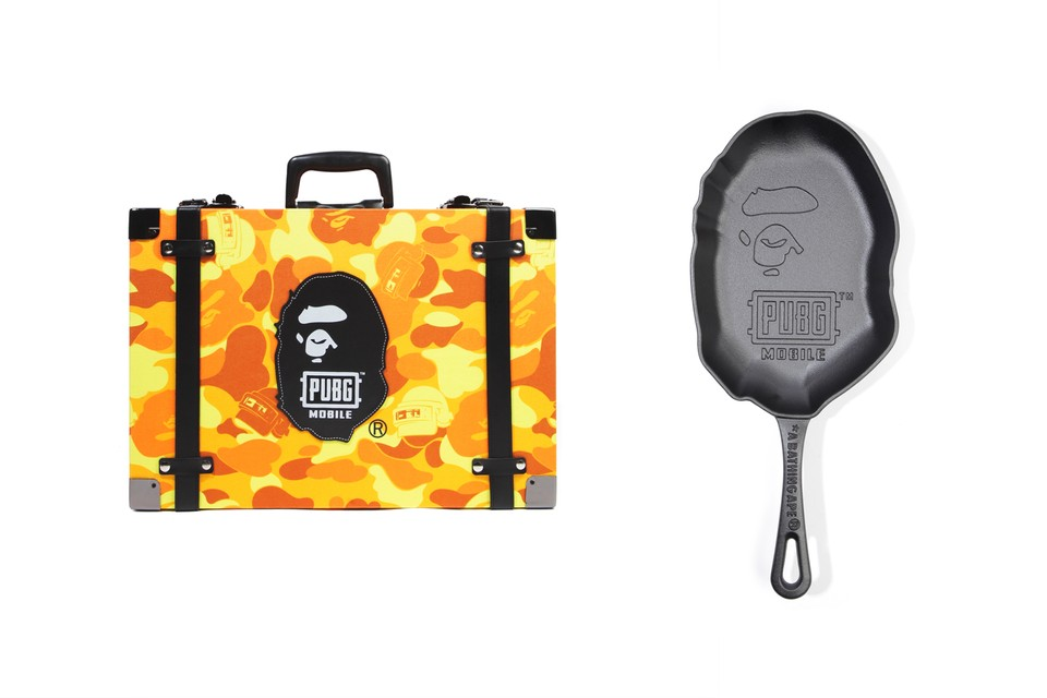 BAPE Is Giving Away Exclusive 'PUBG' Crate & Cast-Iron Pan
