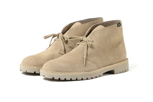 BEAMS Remixes Clarks Desert Rock With GORE-TEX