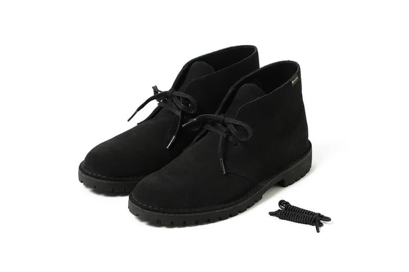 BEAMS x Clarks Originals Desert Rock GORE-TEX collaboration shoe october 2019 vibram drop buy colorway sand beige black