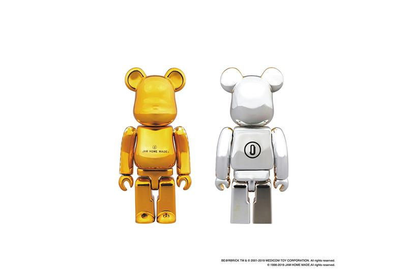 BE@RBRICK JAM HOME MADE Capsule Collection Wallets Key Holders Black Silver Gold