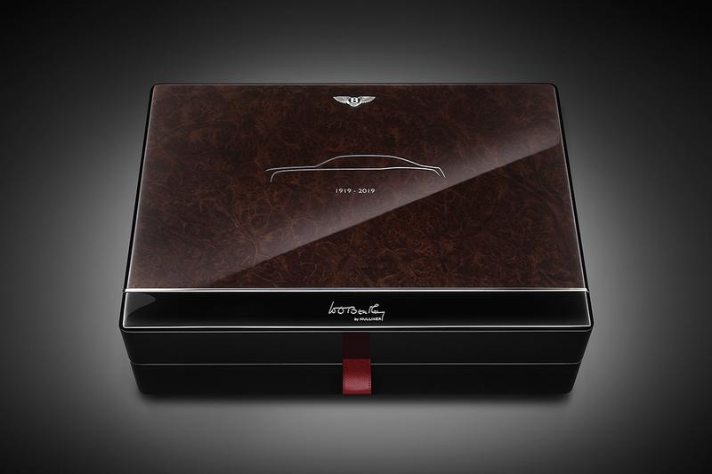 Bentley Commemorative Mulsanne W.O. Key Case Info cars supercars luxury coachbuilding flying B
