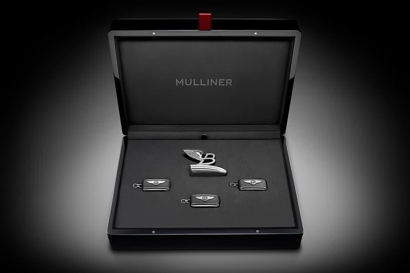 Bentley Commemorative Mulsanne W.O. Key Case Info cars supercars luxury coachbuilding flying B