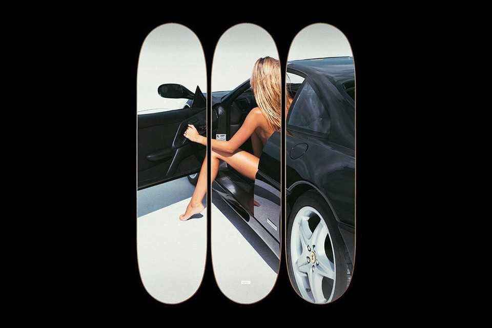 Best Art Drops: 'The Berlinetta' Skateboard Triptych, Jenny Holzer Photographs & More
