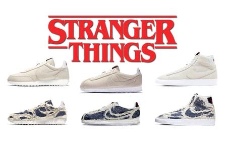 """'Stranger Things' & Nike Head Back to the """"Upside Down"""" in This Week's Best Footwear Drops"""