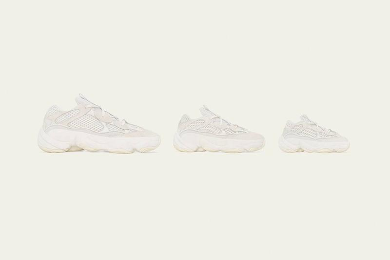 Best Sneaker Releases August 2019 Week 3 adidas originals yeezy 500 bone white kanye west three stripes