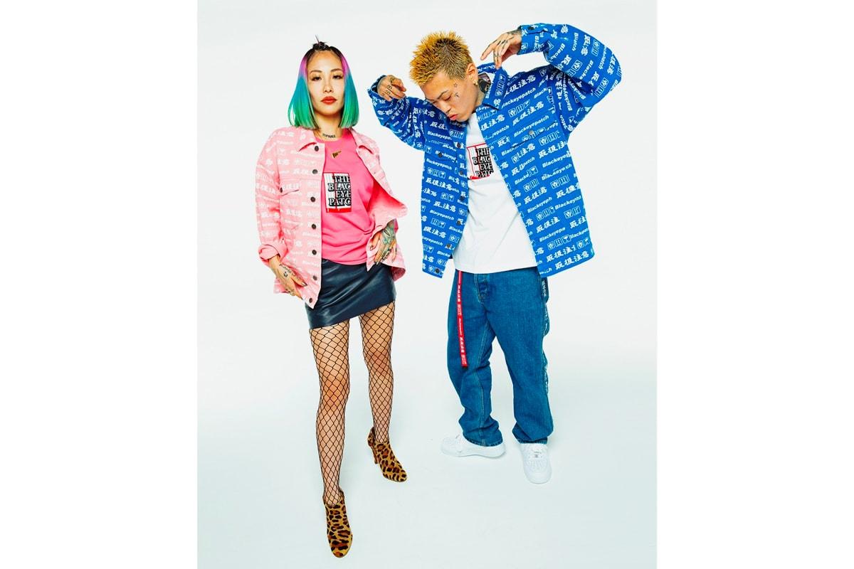 BlackEyePatch Fall Winter 2019 Collection Lookbook Japanese streetwear release info date 2000s Hip Hop RnB New Graphics Wavy 3M Denim Knitwear Embroidery Mazda MX5 Orange Blue Racing Techwear