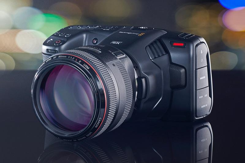Blackmagic Design 6k Super-35 Pocket Cinema Camera Info cinematography
