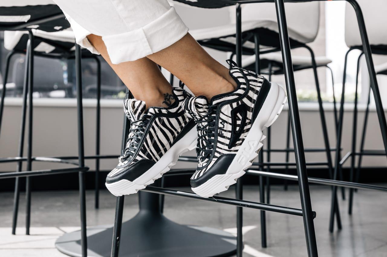 FILA Disrupter 2 and Nike Air Max 200