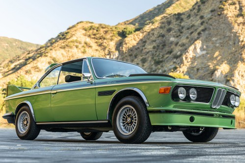 "Super Rare 1974 BMW 3.0 CSL ""Batmobile"" in ""Taiga Metallic"" Goes up for Auction"