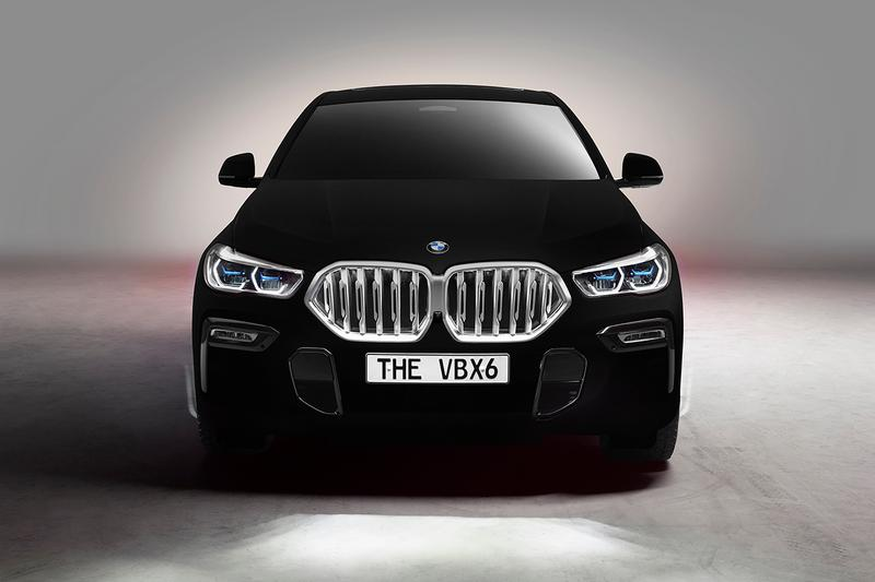 bmw x6 coupe vantablack worlds blackest black anish kapoor surrey nanosystems frankfurt motor show unique car one off 3d 2d first look buy cop purchase