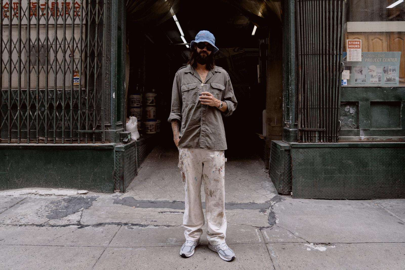 Brocky Marciano Brock Korsan Streetsnaps Style Interview Feature TDE schoolboy q style carhartt new balance