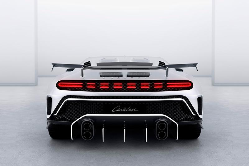 Bugatti Centodieci EB 110 Super Sport Homage £9M GBP Hypercar Limited Edition Ten Units One Off Volkswagen Group French Supercar Automotive First Look Chiron Based