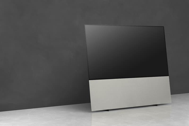 Canvas Audio LG OLED TV Soundbar Speaker Stand Sound Optimization System Hi-Fi Living Room Tech Equipment Cinematic Audio Audiostand AirPlay 2, Chromecast, Bluetooth, Toslink, HDMI