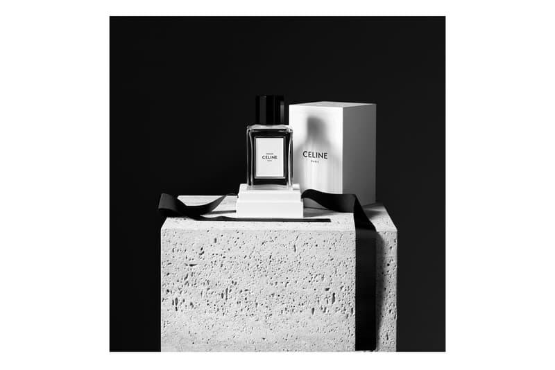celine hedi slimane perfume parfum fragrance eau de toilette maison launch