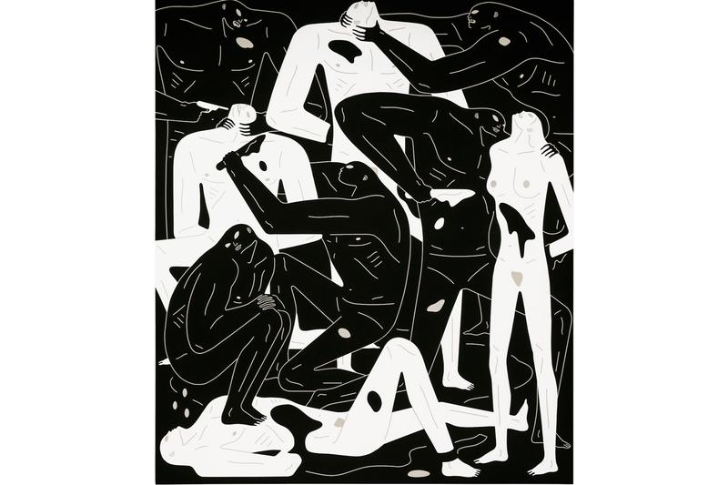 cleon peterson stare into the sun exhibition pilevneli gallery artworks paintings installations