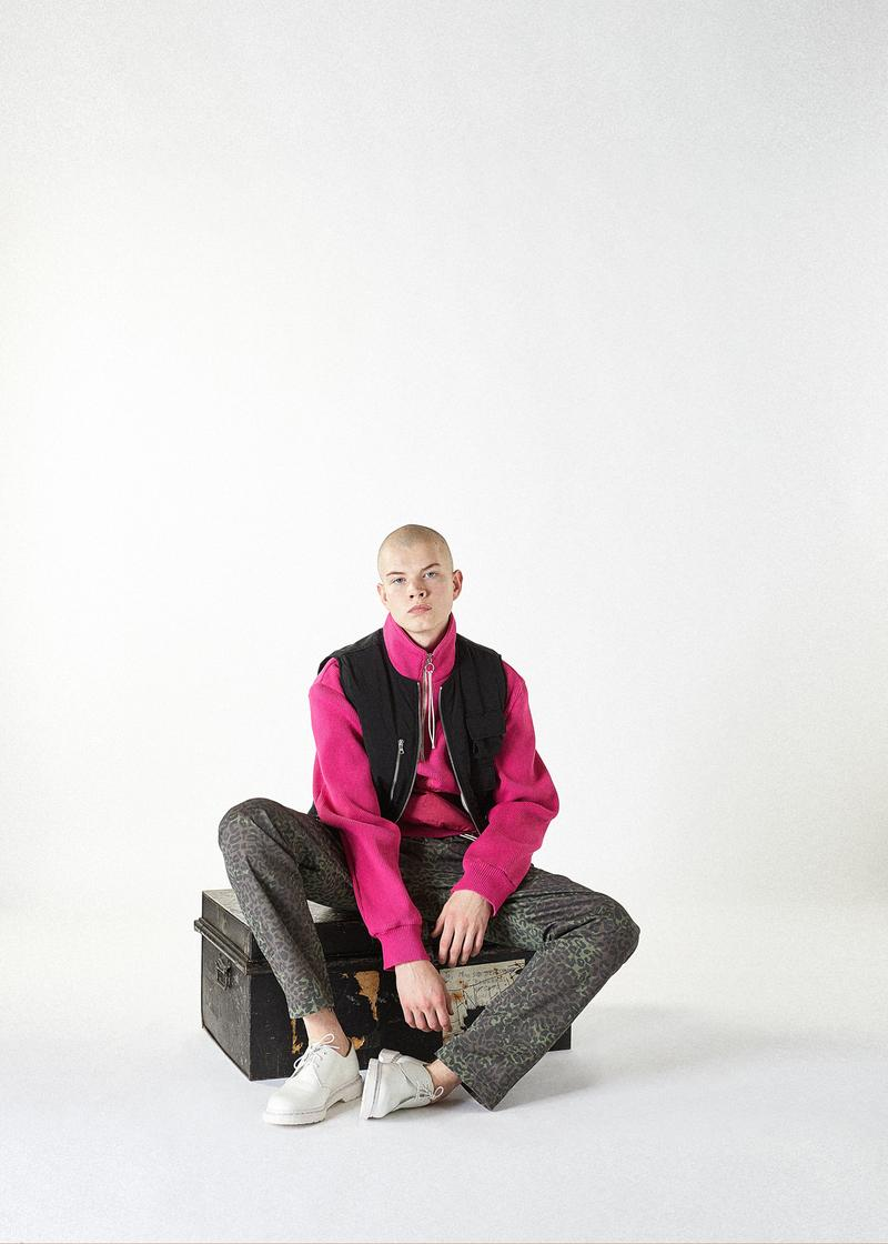 clothsurgeon military inspired aw19 collection luxury menswear streetwear tactical utilitarian london british ww2 fall autumn winter clothing model