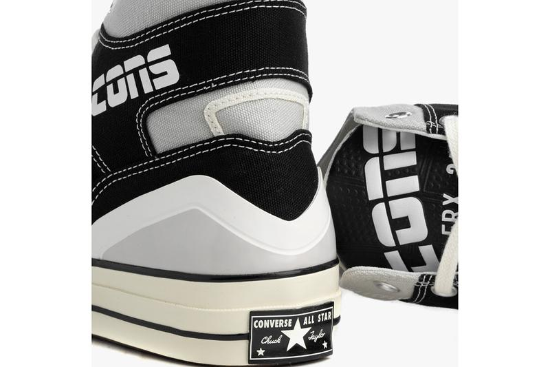 """Converse Chuck 70 E260 Hybrid Sneaker Footwear Release Information Classic Retro '90s Basketball Influence All Star """"Natural Ivory/Egret"""" """"Black/White"""""""