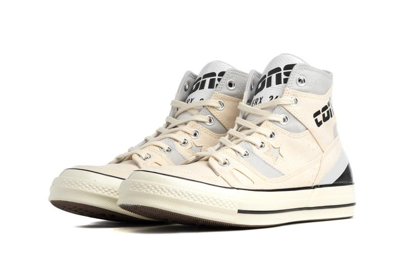 "Converse Chuck 70 E260 Hybrid Sneaker Footwear Release Information Classic Retro '90s Basketball Influence All Star ""Natural Ivory/Egret"" ""Black/White"""