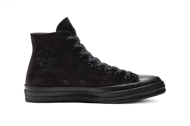 Converse Chuck 70 Velvet High Top Black Burnt Sienna Release 165171C 165170C
