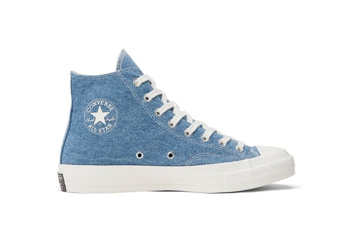 Converse's Sustainable Renew Denim Chuck 70 High & Ox Low Will Release Later This Month