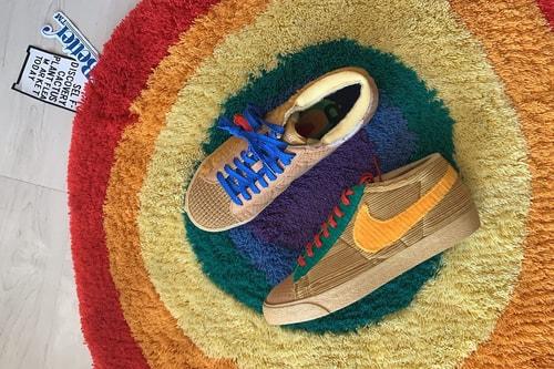 "Cactus Plant Flea Market Teases Nike Blazer By You ""Sponge"" on Instagram"