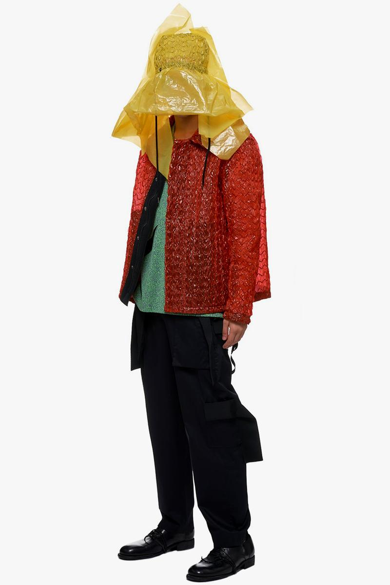 Craig Green Rain Proof Plastic Bucket Hat Red Yellow Gear Weather