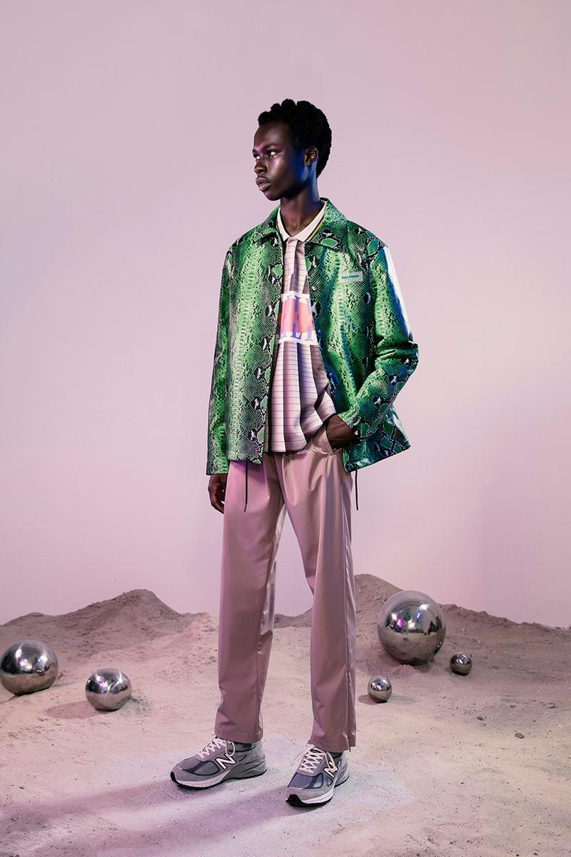 Daily Paper Fall Winter 2019 FW19 Campaign Lookbook Collection Amsterdam Label Imagery First Look Official Clothing Streetwear Afrofuturism Technical Suits Tie Dye Snake Prints