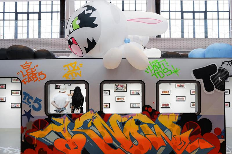 Dave Persue Wet Paint Shanghai Exhibition BunnyKitty Wavemaker Curative Co Creative Park 1 The Cool Docks MTA Subway New York City