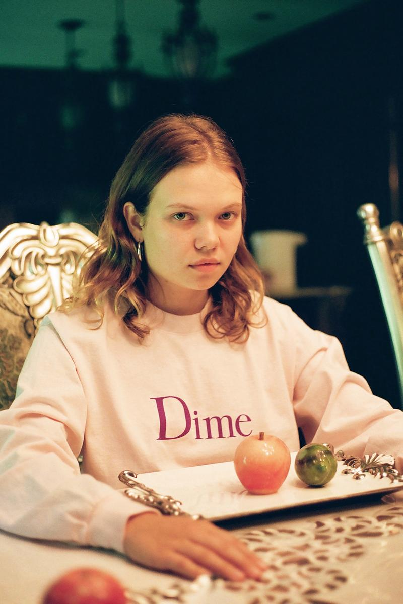 Dime Fall/Winter 2019 Lookbook Collection Sweatshirts Hoodies Tees