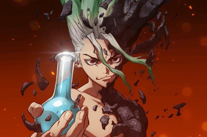 Crunchyroll Dr. Stone Anime Shonen Jump Shonen Magazine