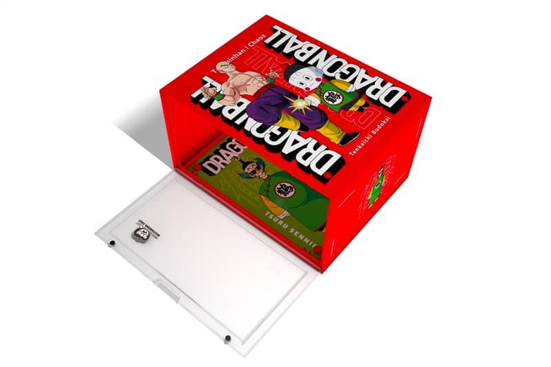 Dragon Ball DBRukia Shoe Box Series Release piccolo krillin tien chiaotzu great ape shenron goku kame