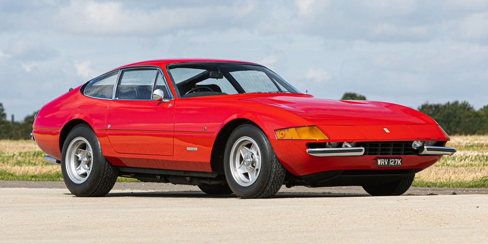 Elton John's 1972 Ferrari Daytona Could Now Be Yours
