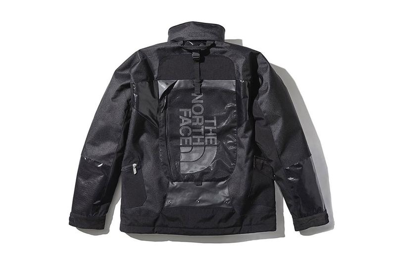 junya watanabe comme des garcons man eye the north face japan goldwin collaborative TORTOISE JACKET/ NP7193CG outerwear release date info price august 30 2019 drop backpack daypack standard fall winter fw19