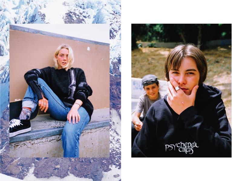 F-LAGSTUF-F Fall Winter 2019 Photobook collection lookbook flagstuff portland oregon los angeles california photos