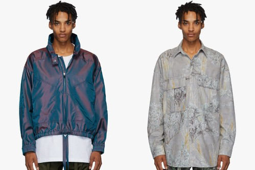 Fear of God's Latest FW19 Drop Features Iridescent Details and Camouflage Prints
