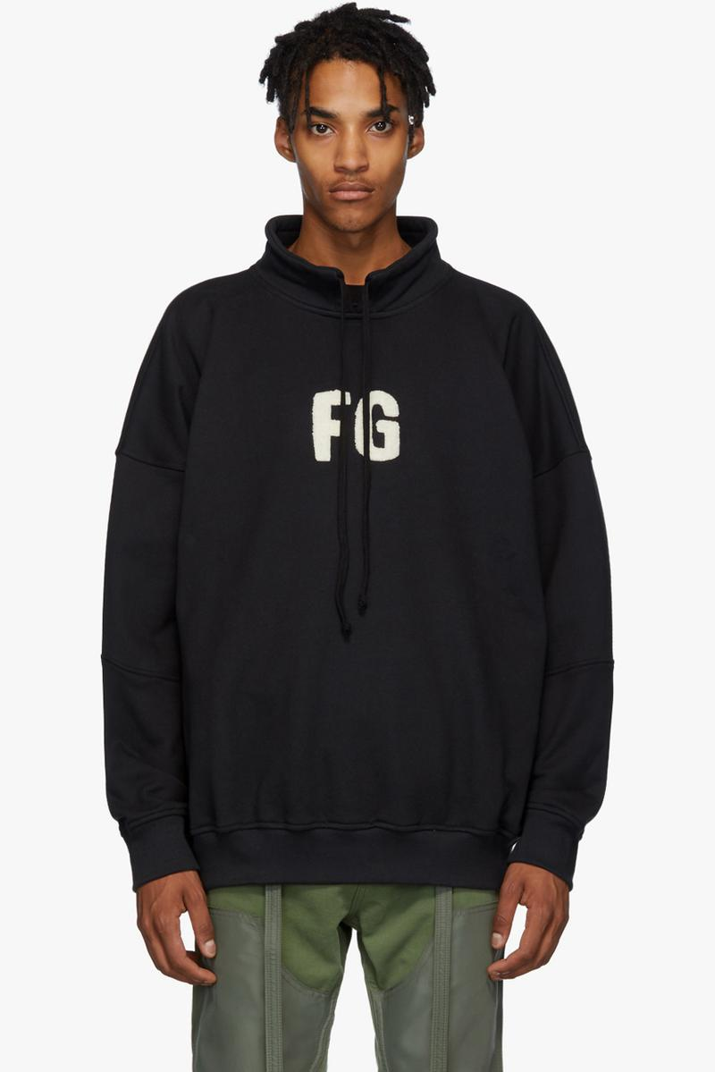 fear of god fall winter 2019 collection release iridescent jacket fg branded logo hoodies varsity jacket camouflage camo pants shirt