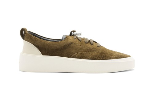 Fear of God Drops SSENSE Exclusive Khaki Suede Sneakers