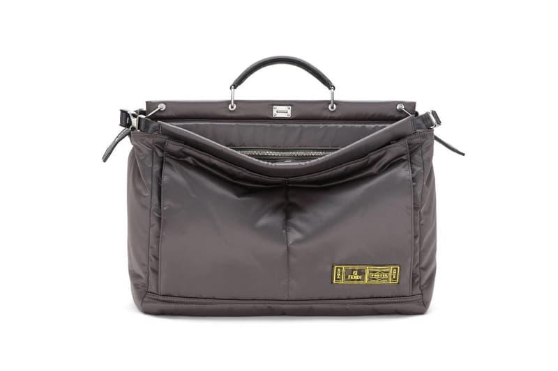 Fendi x Yoshida PORTER Peekaboo & Baguette Bag Capsule Release Fall/winter 2019 2020 collaboration drop info price date