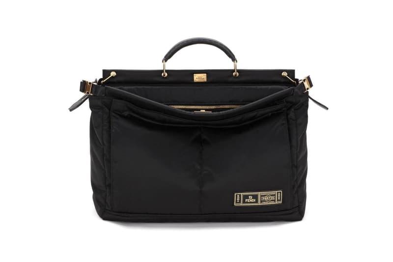 sale retailer 5931b be670 Fendi x PORTER Peekaboo & Baguette Bag Capsule Release ...