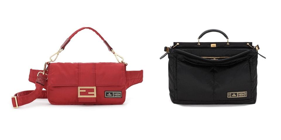 Fendi & PORTER Team for Collaborative Peekaboo & Baguette Bags