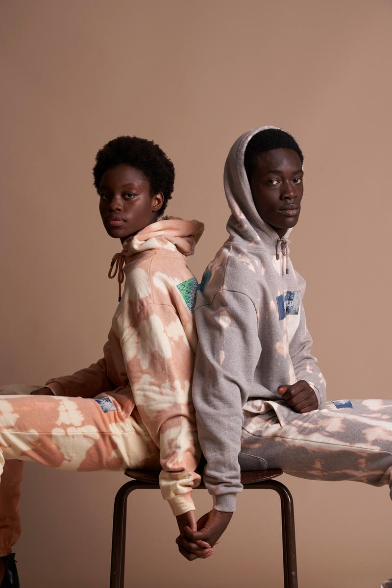"Filling Pieces Fall/Winter 2019 Collection Drop ""NEW WORLD"" Tie-dye Pink White Lay Up Icey Dip Dye Sneakers Hoodies Sweatpants Long sleeves Purple"