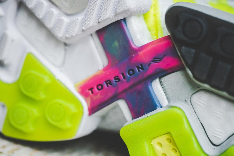 Footpatrol x adidas Consortium ZX Torsion BOOST Sneaker Release Information London Paris Footwear Store TPU 30th Anniversary Notting Hill Carnival Project Colorful Bar