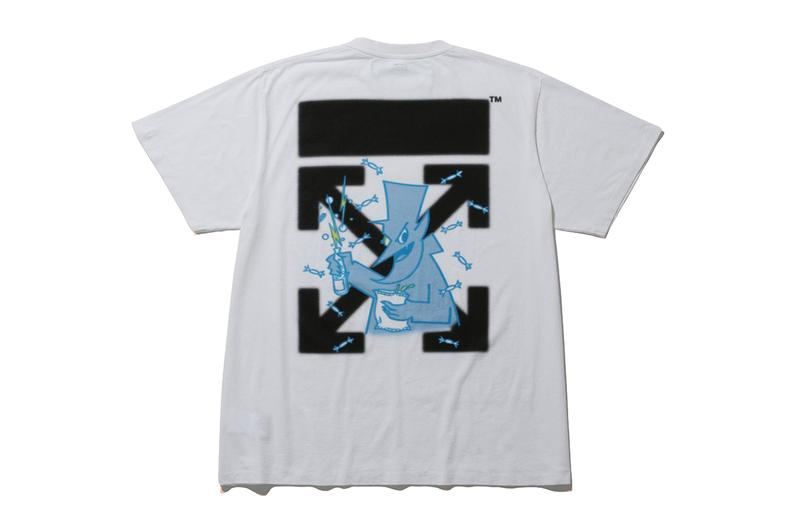 fragment design x Off-White™ for THE CONVENI ginza shop store tee shirt collaboration cereal box release date info buy