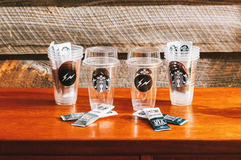 fragment design x Starbucks Japan VIA Packs, Cups collaboration instant coffee august 7 2019 release date info buy hiroshi fujiwara