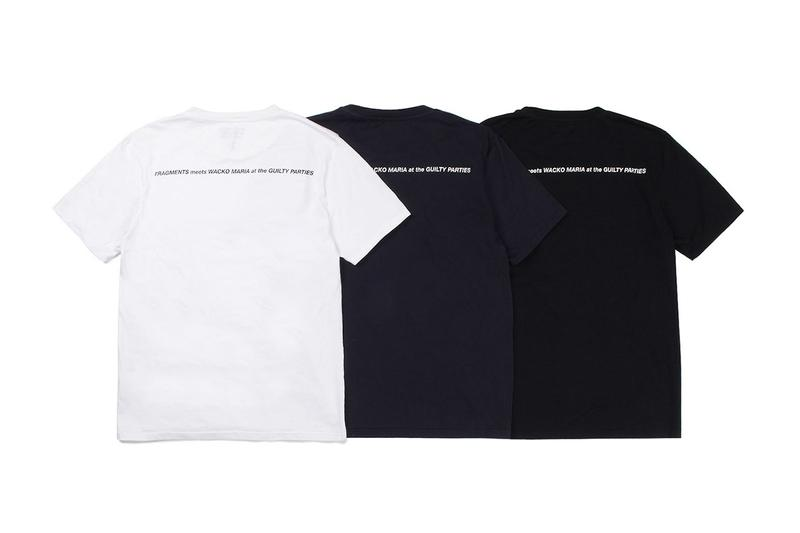 fragment design x WACKO MARIA Fall 2019 Collaboration capsule collection hiroshi fujiwara isetan mens shinjuku august 21 2019 guilty parties exclusive