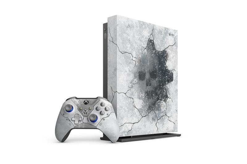 Gears 5 Special Edition Xbox One X Bundle Info controller gears of war console video games gaming